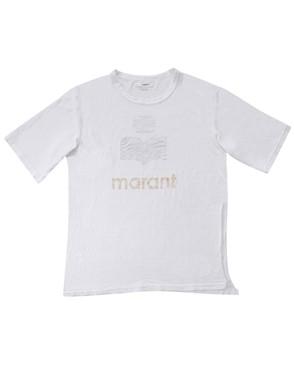 ISABEL MARANT - T - SHIRT KUTA M/C BIANCO