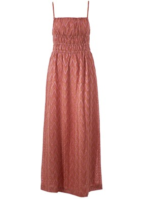 M MISSONI - GOLD AND PINK DRESS