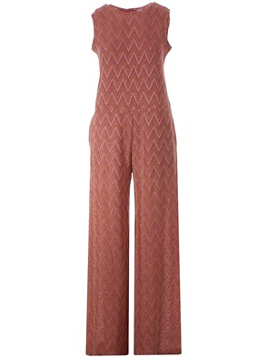 M MISSONI - PINK AND GOLD JUMPSUIT