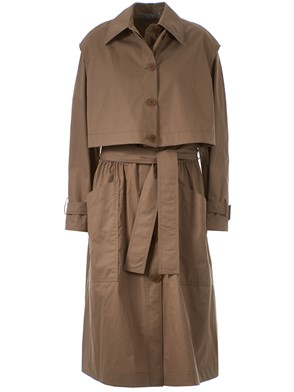 STELLA MC CARTNEY - BEIGE HAILEY TRENCH