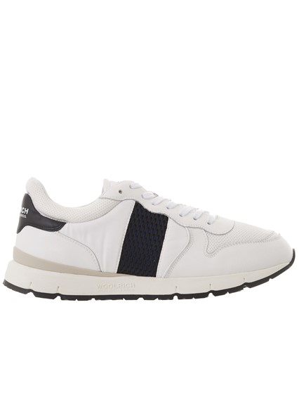 WOOLRICH WHITE SNEAKERS