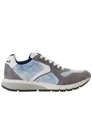 VOILE BLANCHE - GREY LENNY SNEAKERS