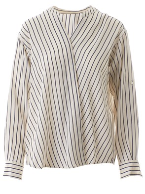 CLOSED - BEIGE STRIPED BLANCHE SHIRT