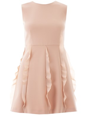 RED VALENTINO - NUDE DRESS