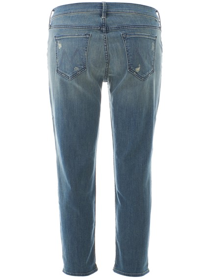 MOTHER BLUE BOYFRIEND JEANS