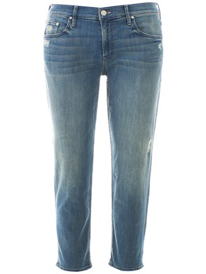 MOTHER JEANS - BLUE BOYFRIEND JEANS