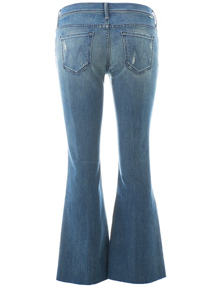 MOTHER BLUE BOOTCUT JEANS
