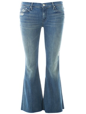MOTHER - BLUE BOOTCUT JEANS
