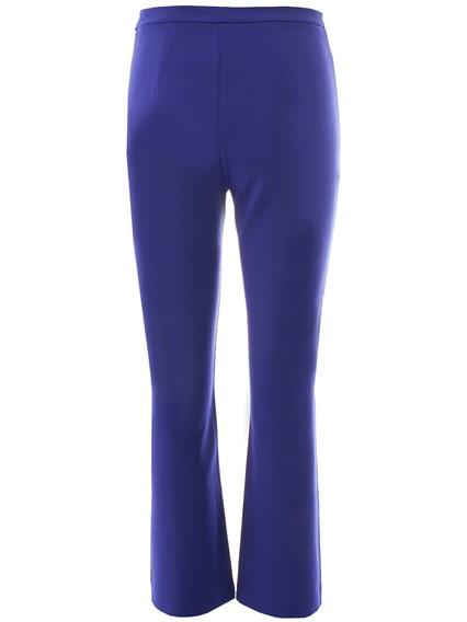 MAX MARA BLUE CALERNO PANTS