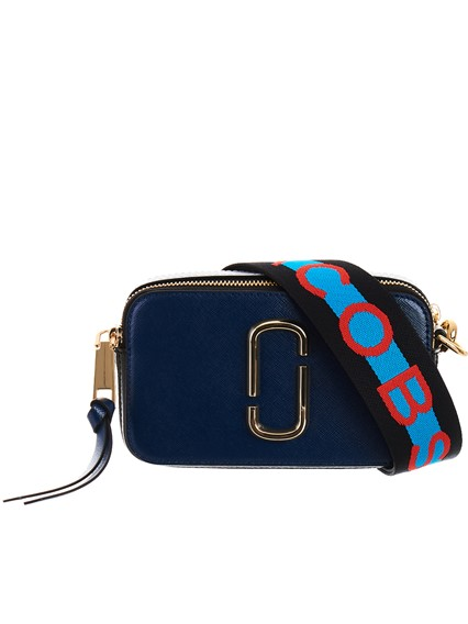 5bacbe696bb marc jacobs BLUE SNAPSHOT BAG available on lungolivigno.com - 25036