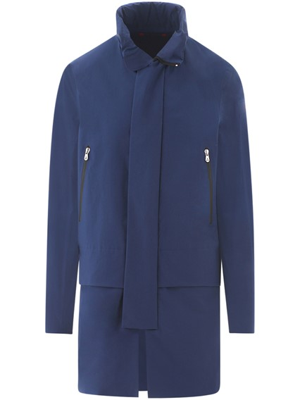 PEUTERY ICON BLUE CARVE JACKET