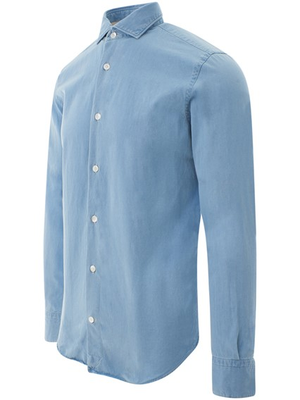ELEVENTY BLUE SHIRT