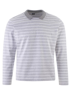 ELEVENTY - TWO-TONE STRIPED SWEATER