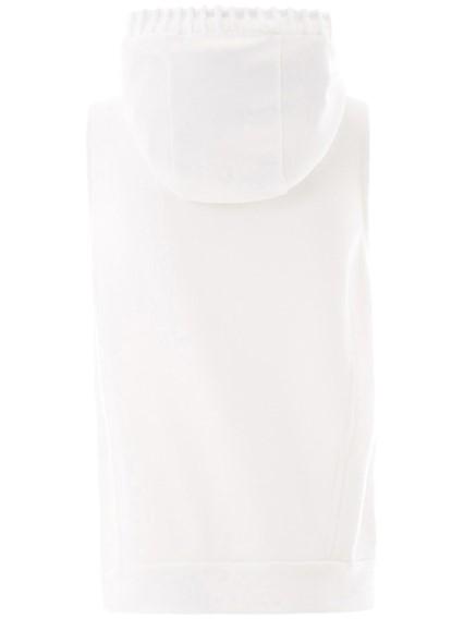 ELEVENTY WHITE SWEATSHIRT
