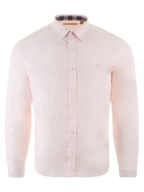BURBERRY - PINK CAMBRIDGE SHIRT