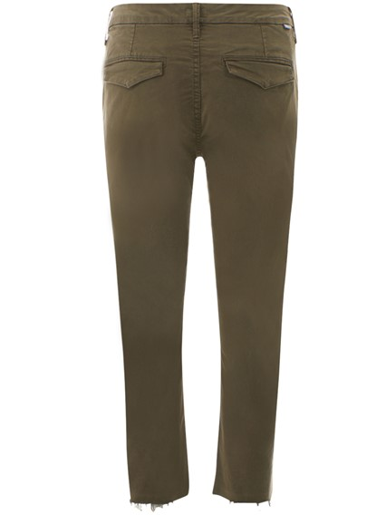 MOTHER GREEN CHINO PANTS