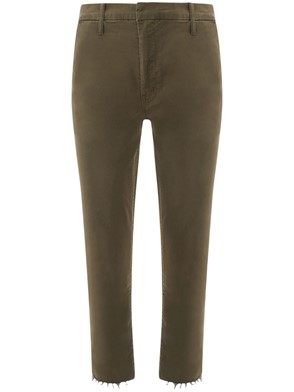 MOTHER - PANTALONE CHINO VERDE