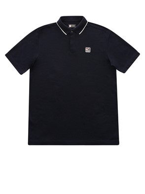 Z ZEGNA - BLUE POLO SHIRT