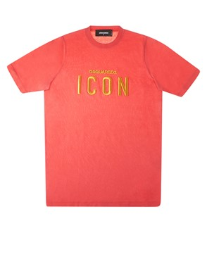 D.SQUARED - T-SHIRT GC0872 S22427 313 RED