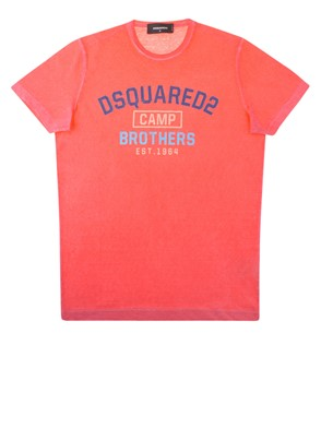 DSQUARED2 - T-SHIRT GD0374 S22507 303 RED