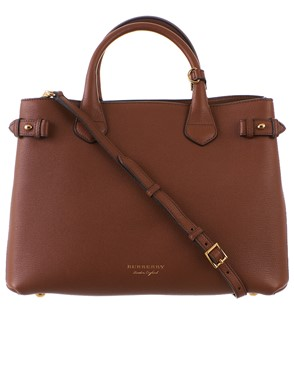 BURBERRY - BAG 4023695 MD  BANNER  TAN