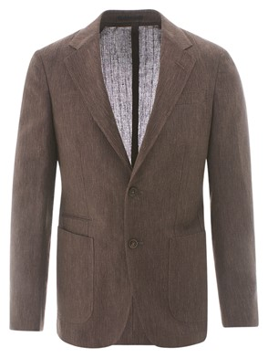 Z ZEGNA - BROWN BLAZER