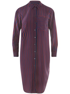 CLOSED - BLUE STRIPED ABIOLA SHIRT