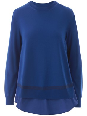 MONCLER - BLUE SWEATER