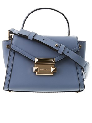 MICHAEL KORS - BORSA  M GROUP MINI MESS AZZUR
