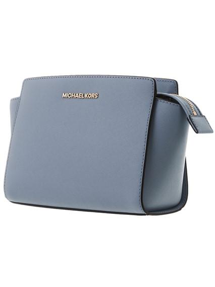 Michael Kors Light Blue Selma Mini Bag