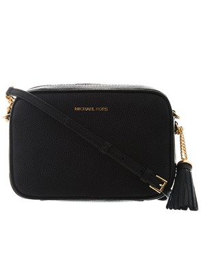 MICHAEL KORS - BORSINA CROSS CAMERA BAG NERA
