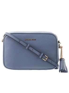 MICHAEL KORS - BORSINA CROSS CAMERA BAG AZZUR