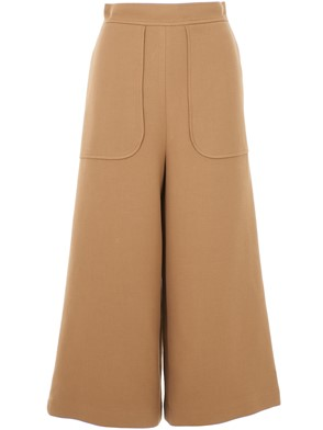 SEE BY CHLOE' - POLYESTER AND COTTON PANTS