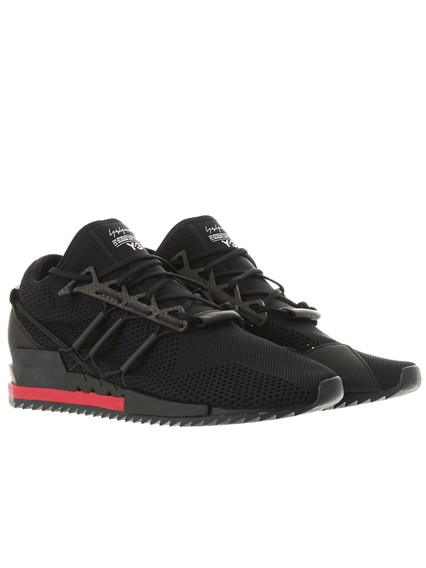 Y-3 BLACK HARIGANE SNEAKERS