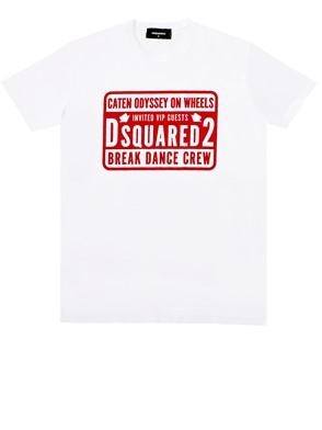 D.SQUARED - WHITE T-SHIRT