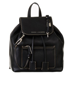 MARC JACOBS - BLACK BOLD GRIND BACKPACK