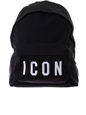 DSQUARED2 - BLACK BACKPACK
