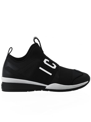 D.SQUARED - BLACK RUNNER ICON SNEAKERS