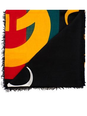 GUCCI - BLACK SHAWL