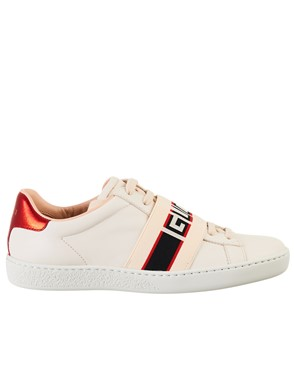 GUCCI - WHITE ACE SNEAKERS