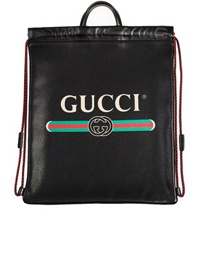 GUCCI - BLACK BACKPACK