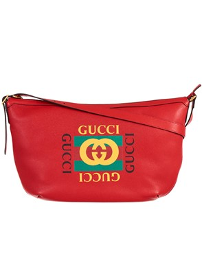 GUCCI - RED MESSENGER BAG
