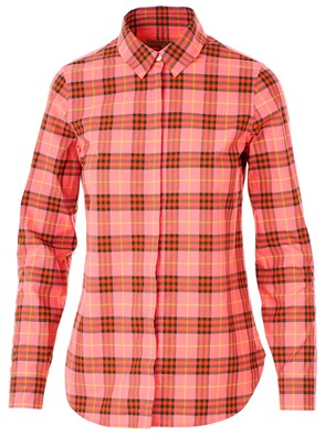 BURBERRY - PINK AND RED SHIRT