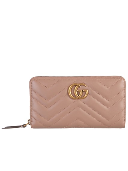 27d119f33e0 gucci PINK GG MARMONT WALLET available on lungolivigno.com - 25312