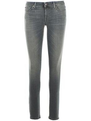 SEVEN FOR ALL MANKIND - GREY PYPER JEANS