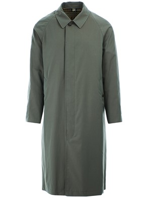 BURBERRY - GREEN BRIGHTON TRENCH COAT