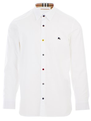 BURBERRY - COTTON SHIRT