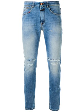 CLOSED - JEANS TAPERED BLU