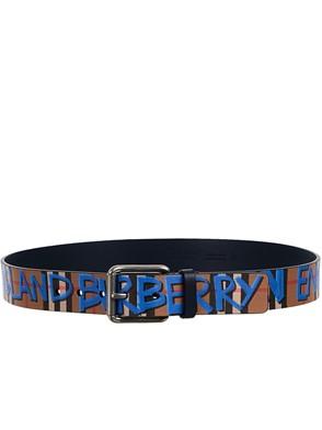 BURBERRY - CINTURA BLU