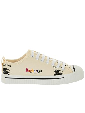 BURBERRY - WHITE SNEAKERS